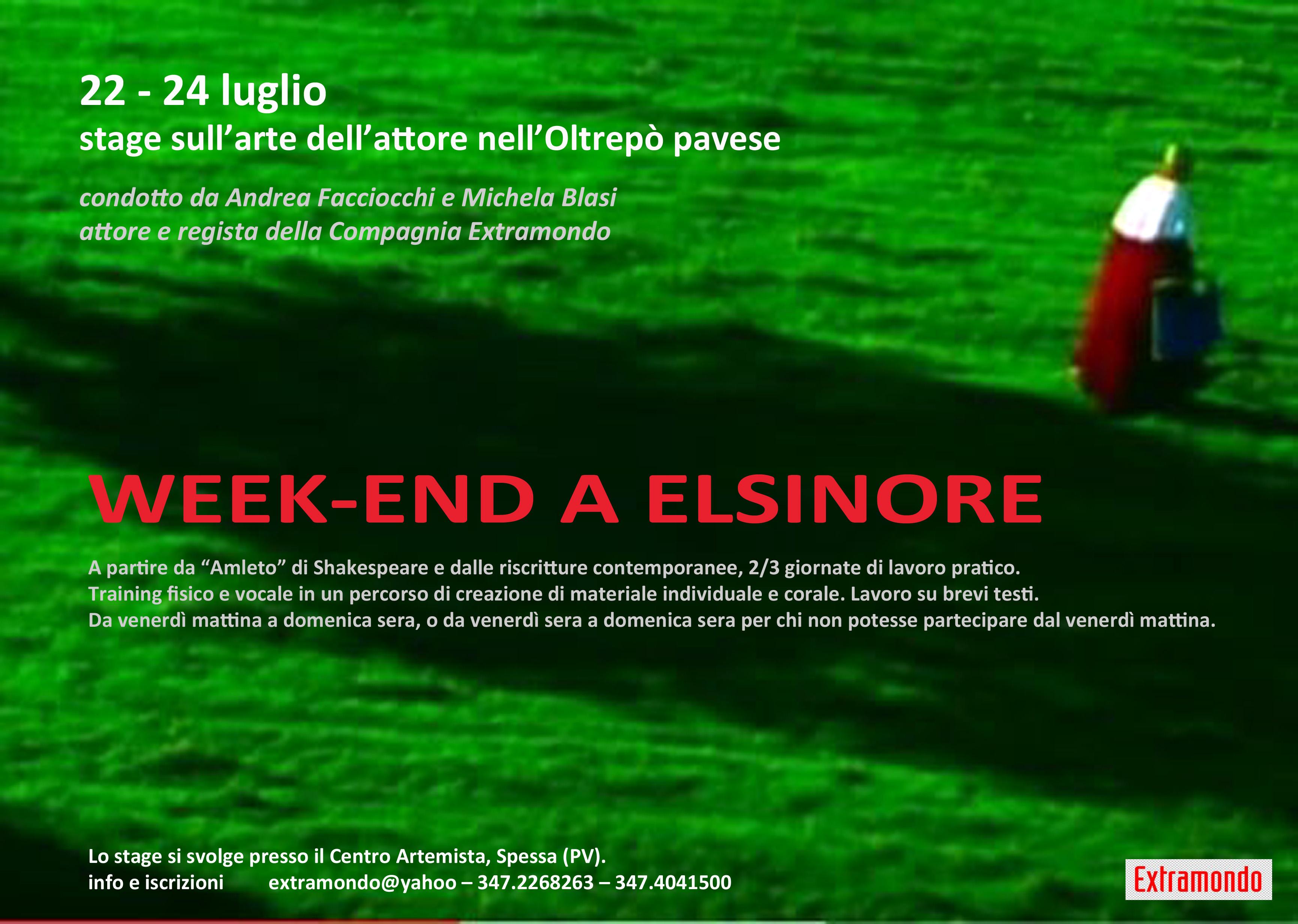 week end a Elsinore-LOC